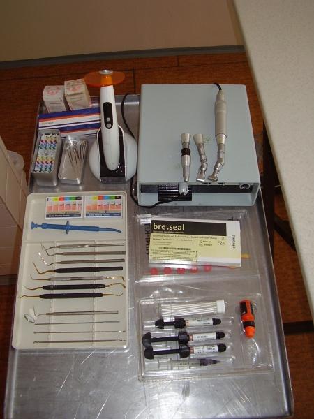 Vybavenie pre stomatologiu a ortodonciu