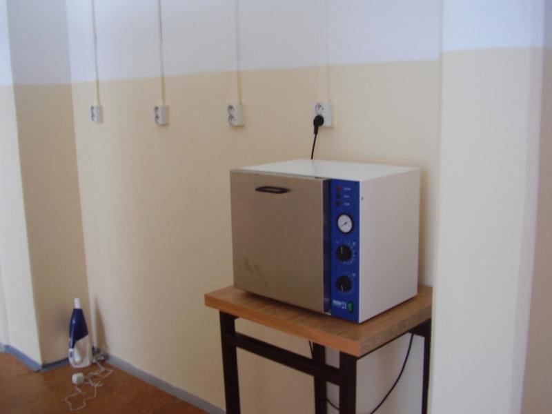 Teplovzdušný sterilizátor